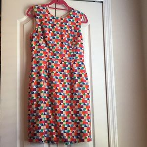 Kate Spade NWOT geometric dress size 8